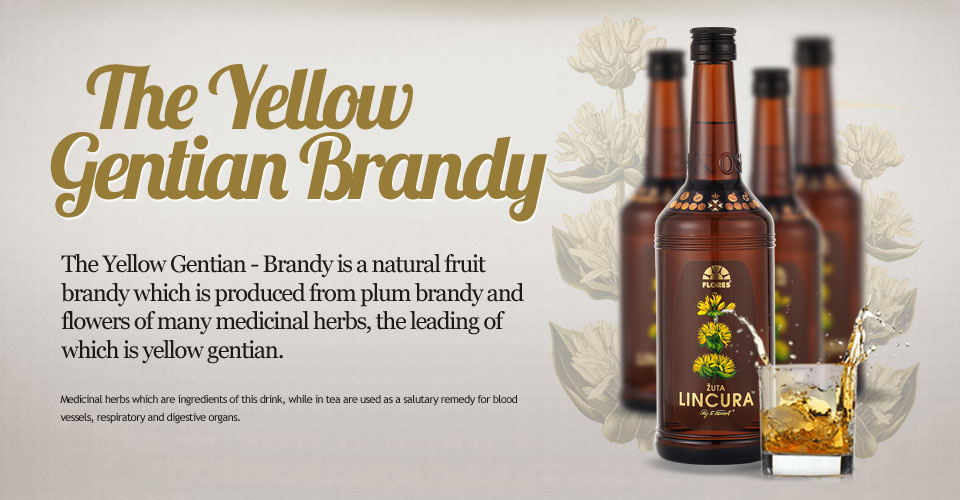 The Yellow Gentian Brandy